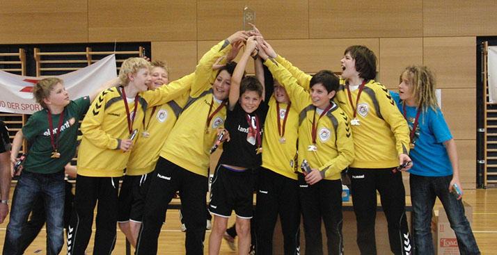 Sc meran youngsters bleiben eine handball macht